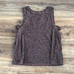 Beyond Yoga Knot So Fast cropped tank